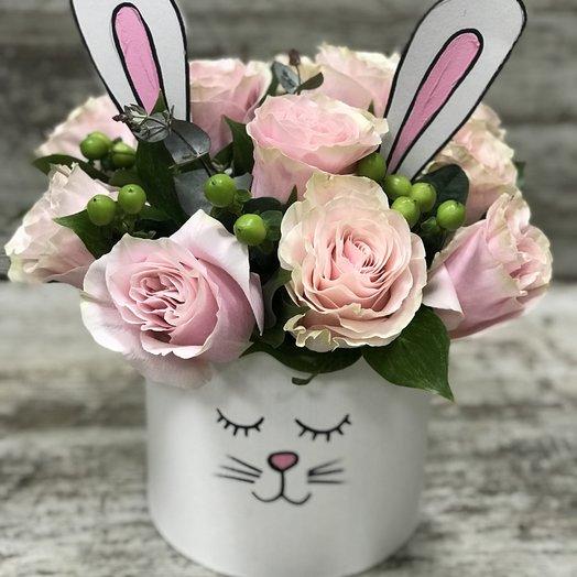 Заяц: букеты цветов на заказ Flowwow