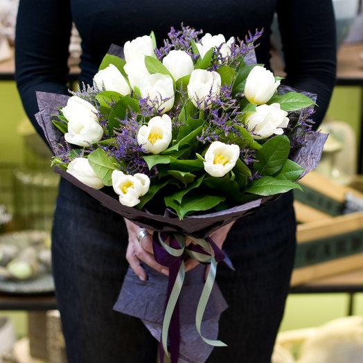 "Букет из тюльпанов ""Pantone"": букеты цветов на заказ Flowwow"