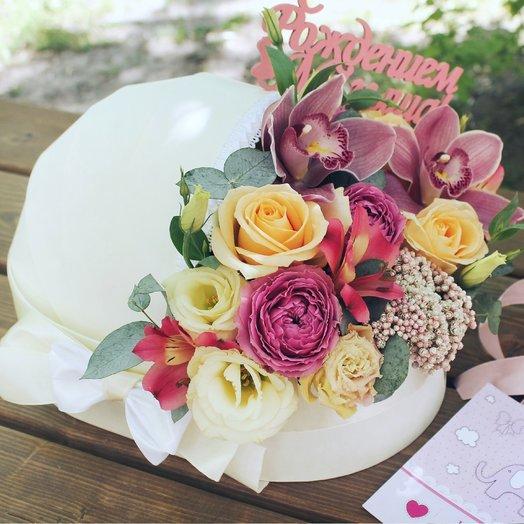 Люлечка с цветами: букеты цветов на заказ Flowwow