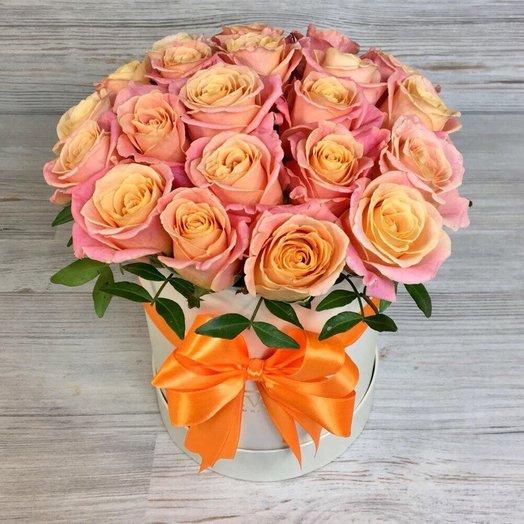 Коробки с цветами. Розы.  N78
