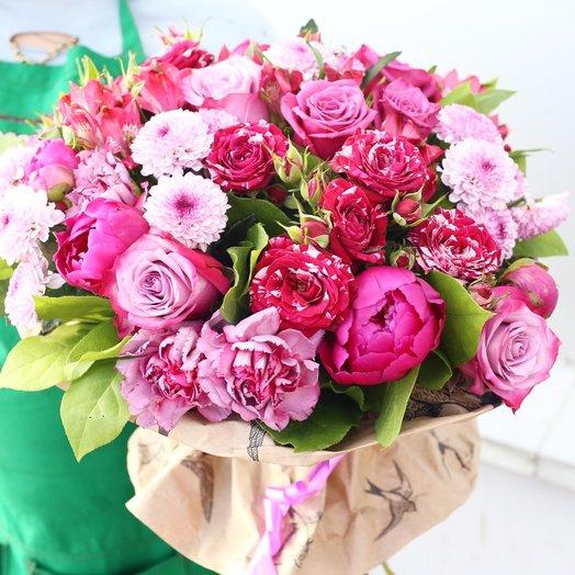 Малиновый смузи: букеты цветов на заказ Flowwow