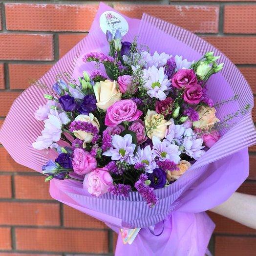 Цвет настроения- сиреневый: букеты цветов на заказ Flowwow