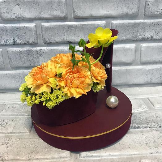 Туфелька Золушки: букеты цветов на заказ Flowwow