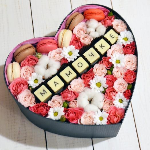 Коробочка к дню матери: букеты цветов на заказ Flowwow