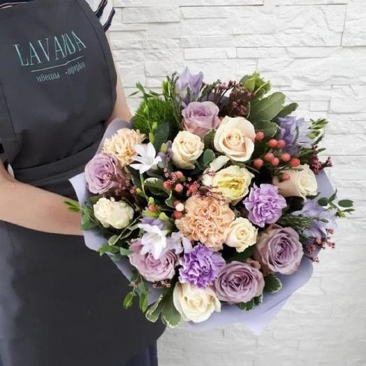 Запах Италии: букеты цветов на заказ Flowwow