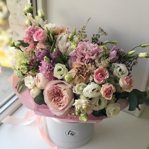 Карамельный десерт: букеты цветов на заказ Flowwow