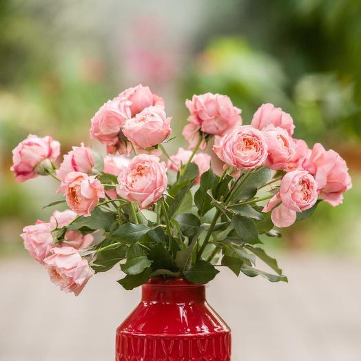 Букетик кустовой розы: букеты цветов на заказ Flowwow