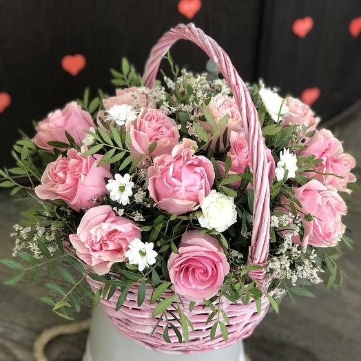 Розовая принцесса: букеты цветов на заказ Flowwow