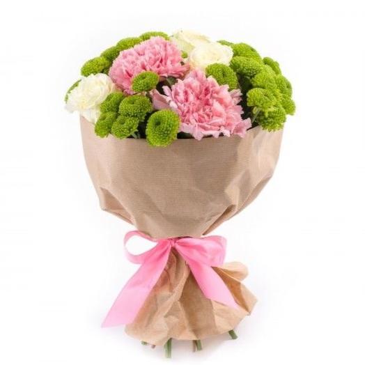 """Букет """"Розовый сад"""": букеты цветов на заказ Flowwow"""