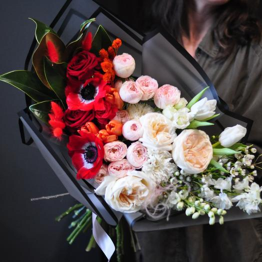 Шикарный авторский букет: букеты цветов на заказ Flowwow