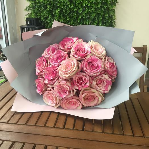 17 эквадорских роз. Magic Times: букеты цветов на заказ Flowwow