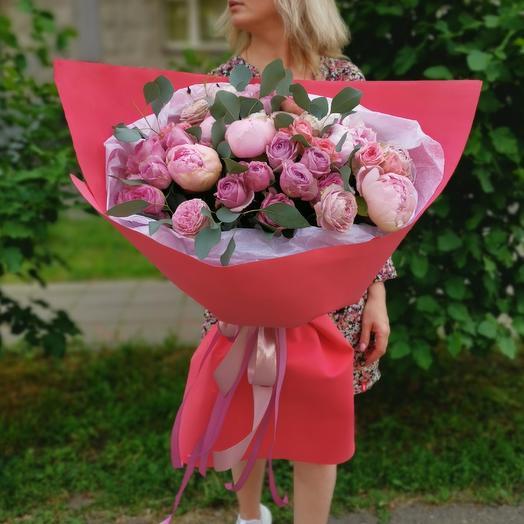 Букет гигант 1: букеты цветов на заказ Flowwow