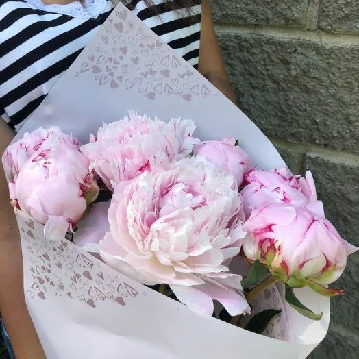 Букет ароматных пионов: букеты цветов на заказ Flowwow