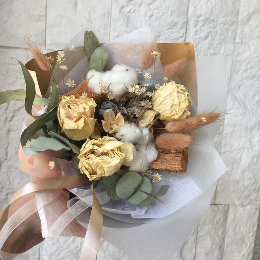 Ванильный каппучино: букеты цветов на заказ Flowwow