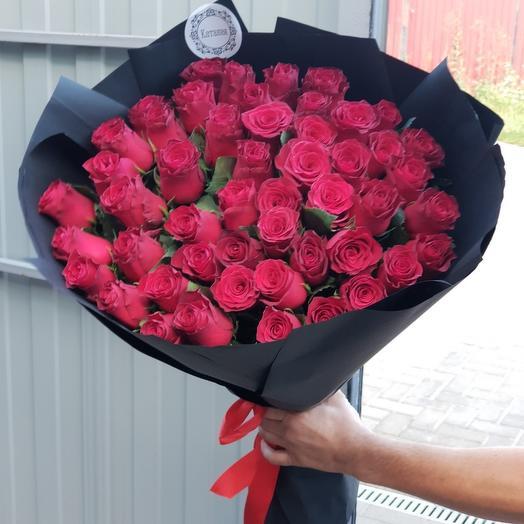 51 роза 55 см: букеты цветов на заказ Flowwow