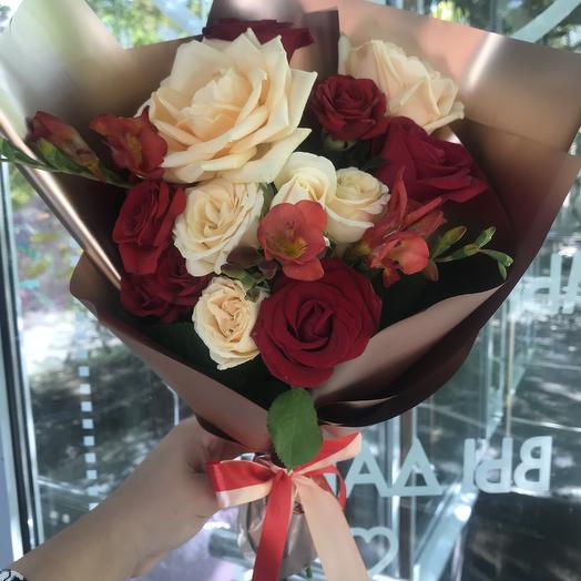 Душа: букеты цветов на заказ Flowwow
