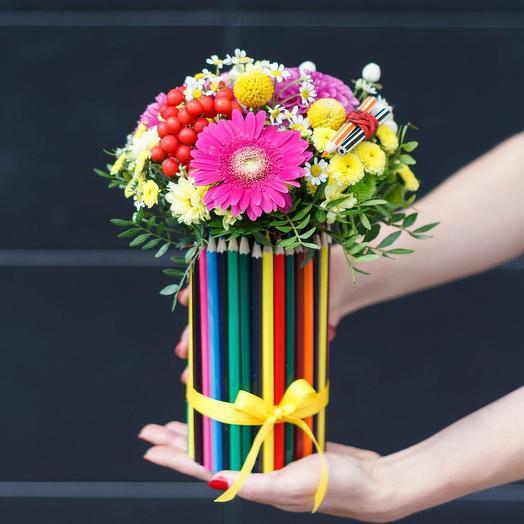 Карандаши: букеты цветов на заказ Flowwow