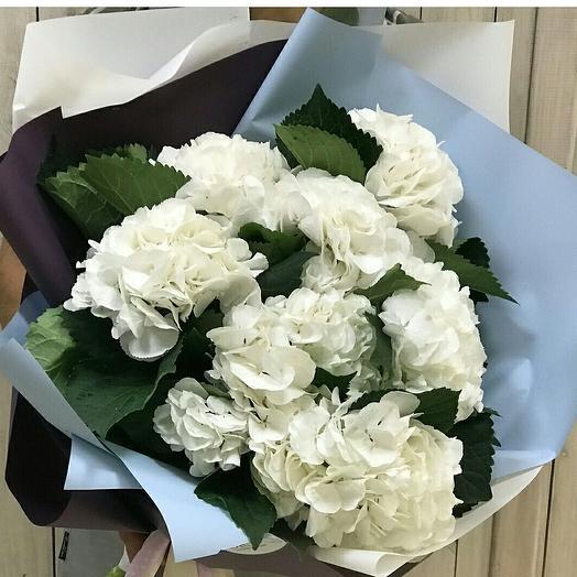 Белый туман: букеты цветов на заказ Flowwow