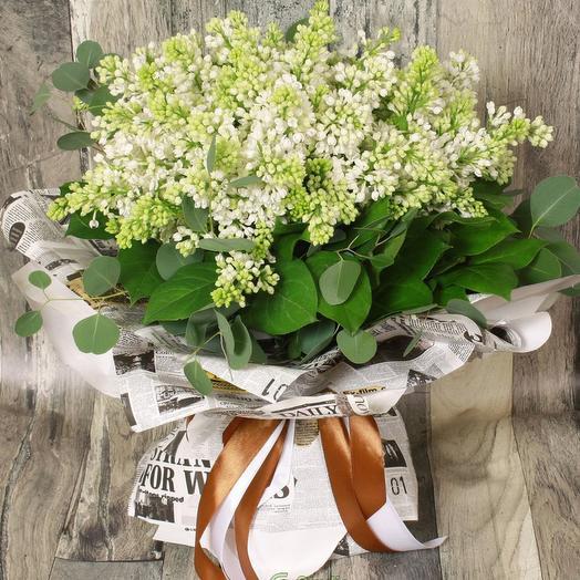 "Букет ""Аромат сирени"": букеты цветов на заказ Flowwow"