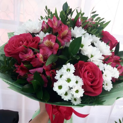 Цветы: букеты цветов на заказ Flowwow