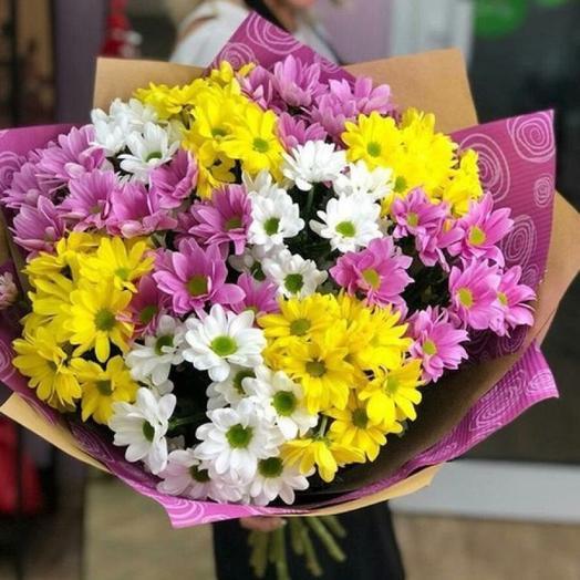 Букет Любимой мамочке: букеты цветов на заказ Flowwow