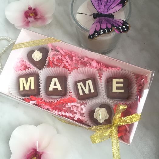 Шоколад маме: букеты цветов на заказ Flowwow
