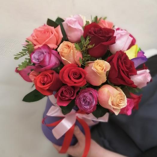 """Коробочка с розами """"Ты мое сердце"""""""