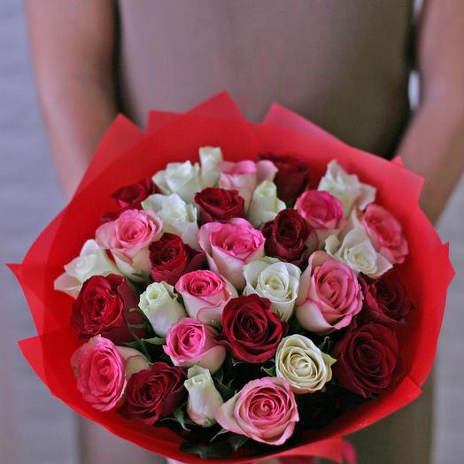 31 bouquet of roses: flowers to order Flowwow