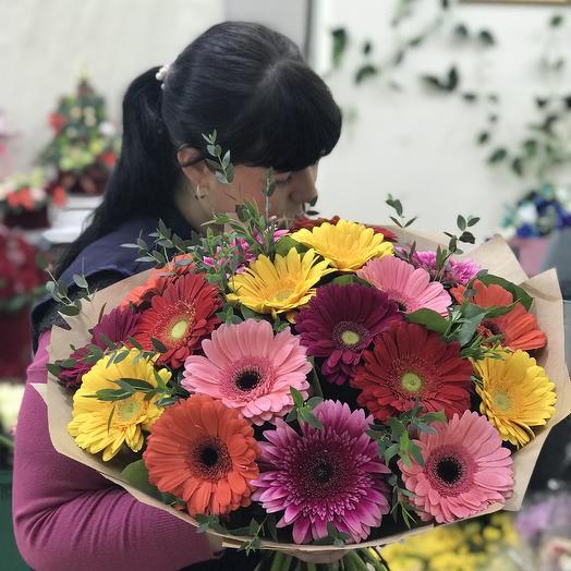 Герберная поляна: букеты цветов на заказ Flowwow