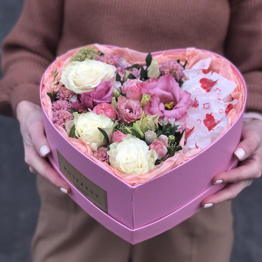 Сладкий праздник: букеты цветов на заказ Flowwow