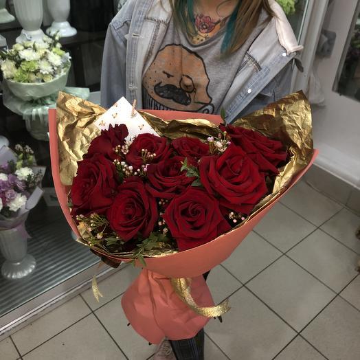 Голден Роуз: букеты цветов на заказ Flowwow