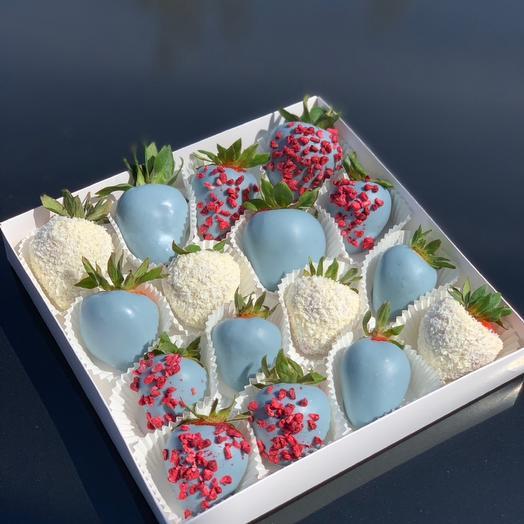 Набор из клубники в шоколаде: букеты цветов на заказ Flowwow