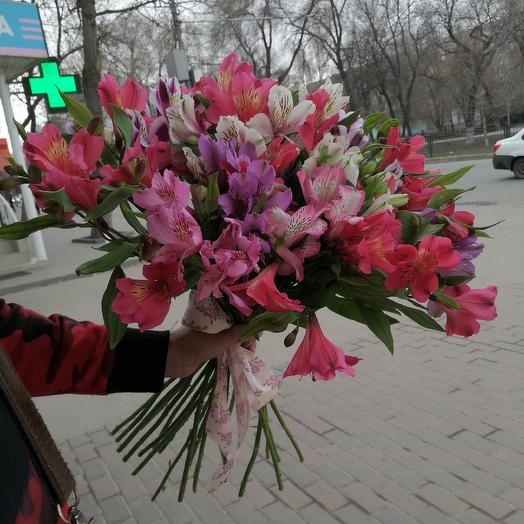 Альстрамерия: букеты цветов на заказ Flowwow