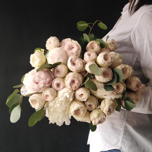 """Букет """"Пудровые сны"""": букеты цветов на заказ Flowwow"""