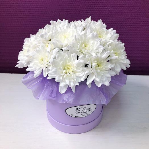The ball of chrysanthemums