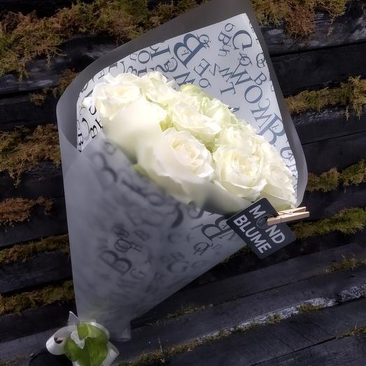 Букет Моно из 15 роз