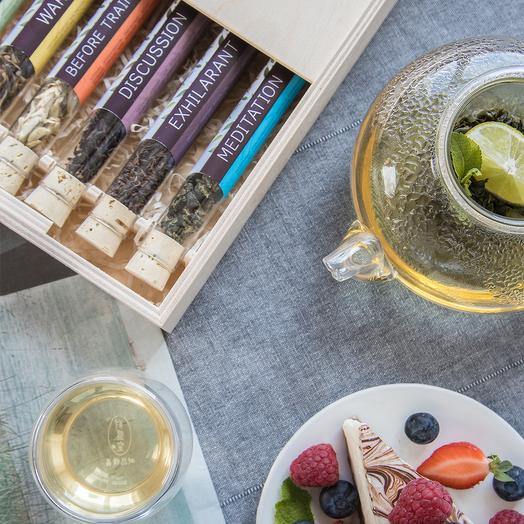 Чай в пробирках (6 вкусов)