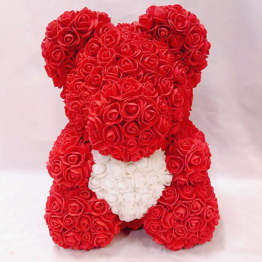 Bear from rose