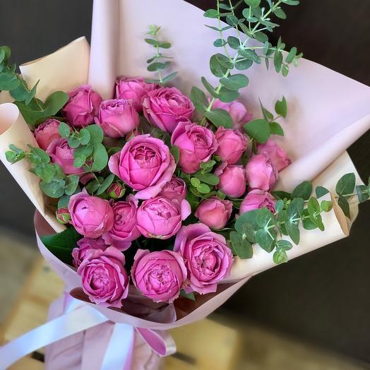 Букет Мистика(пионовидная Роза)