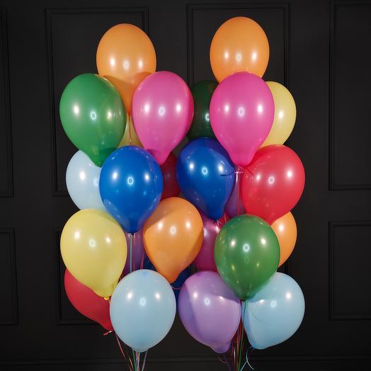 Разноцветные шарики 25 шт