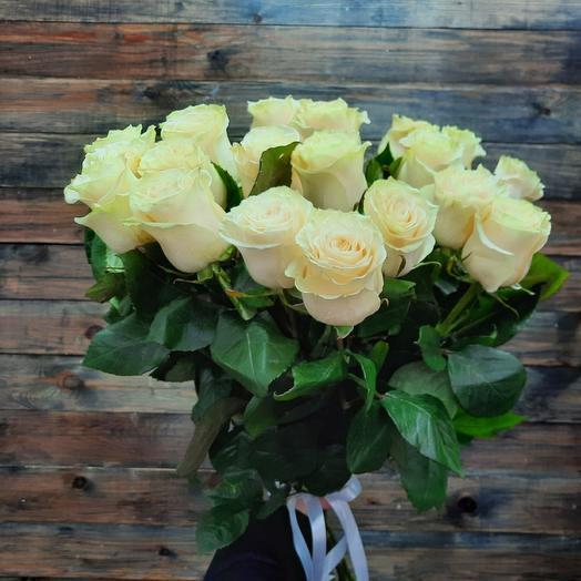 Букет из 19 роз премиум