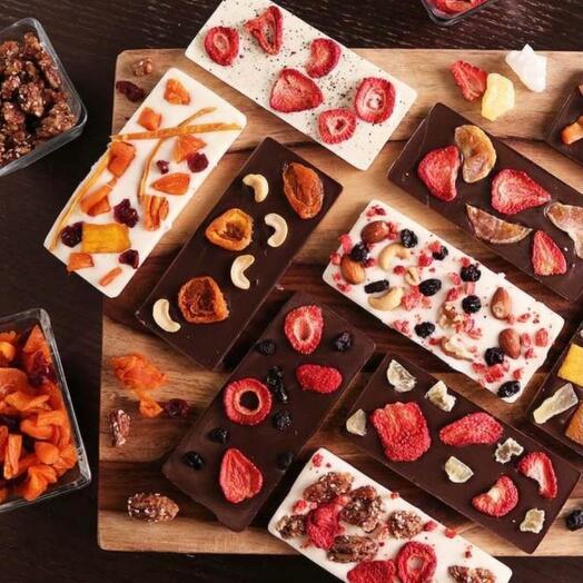 Крафтовый бельгийский шоколад ручной работы