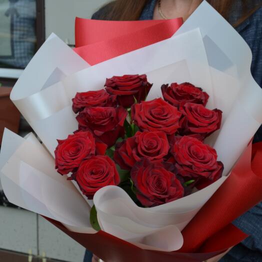 Красная Роза (11шт)