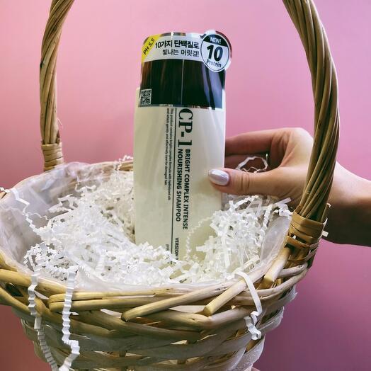 Шампунь для волос ПРОТЕИНОВЫЙ CP-1 BC Intense  urishing Shampoo Version 2.0, 500 мл Esthetic House