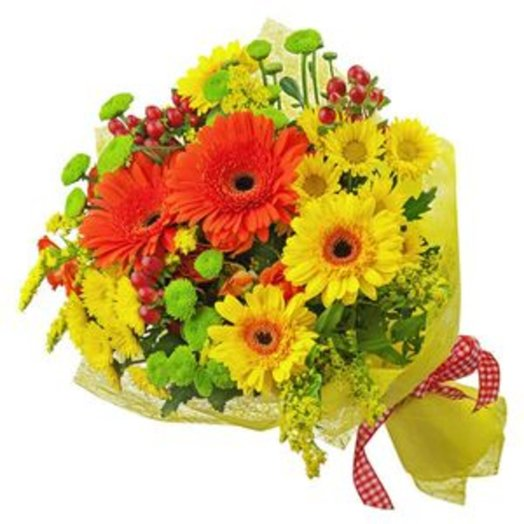 БЦ-100014 Осенний день: букеты цветов на заказ Flowwow