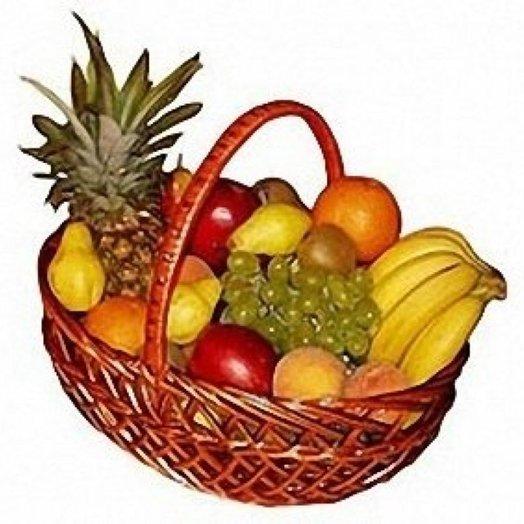 001 Корзина фруктов