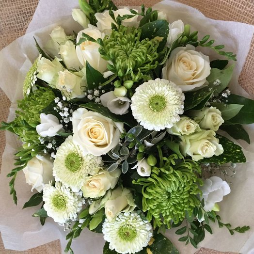 A Bouquet Of Freshness: flowers to order Flowwow