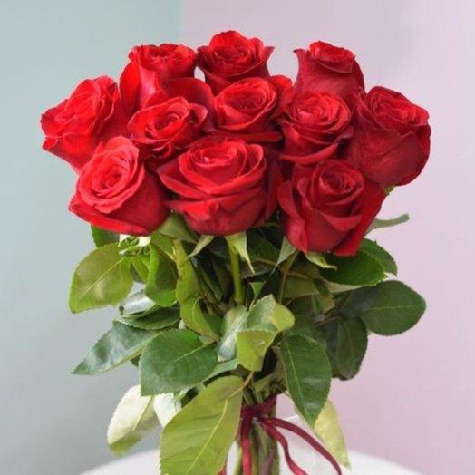 11 роз Фридом: букеты цветов на заказ Flowwow