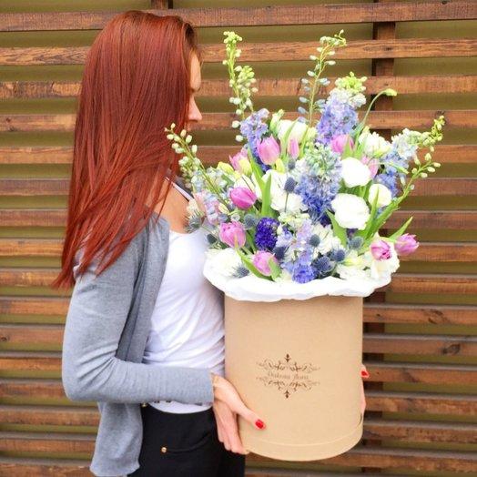 Волшебный фонтан: букеты цветов на заказ Flowwow