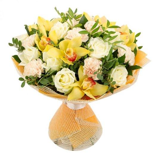 Стереобукет ASCANIA: букеты цветов на заказ Flowwow